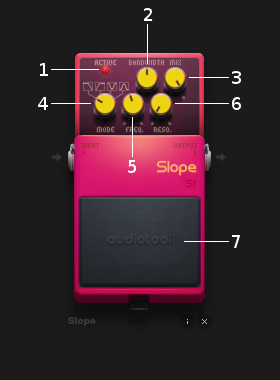 Slope controls
