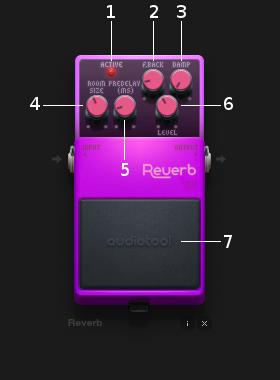 Reverb controls