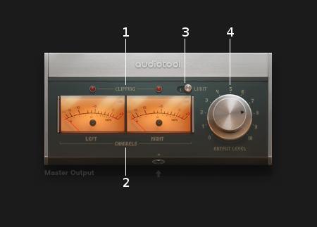 Master output controls