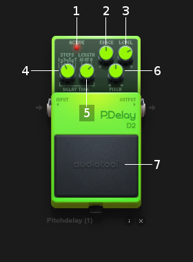 Pitchdelay controls