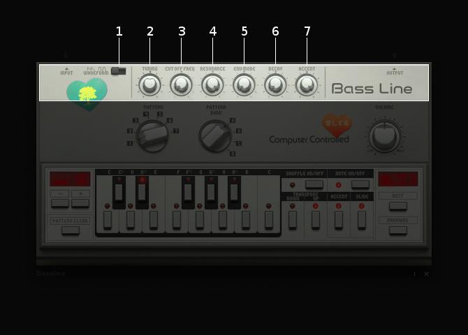 Bassline voice section
