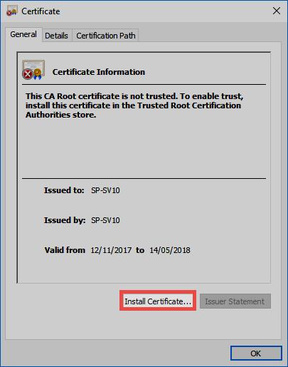 SSL connection certificates - Password Safe V8 - 8.5.0