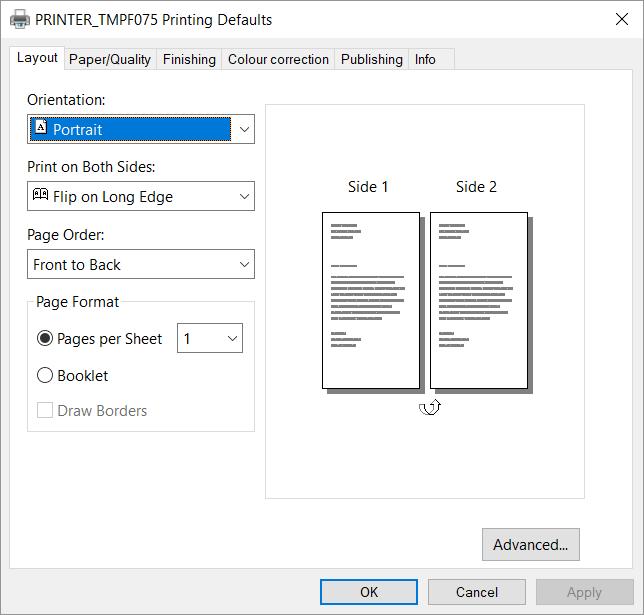 Kyocera classic universal print driver - Printix Administrator