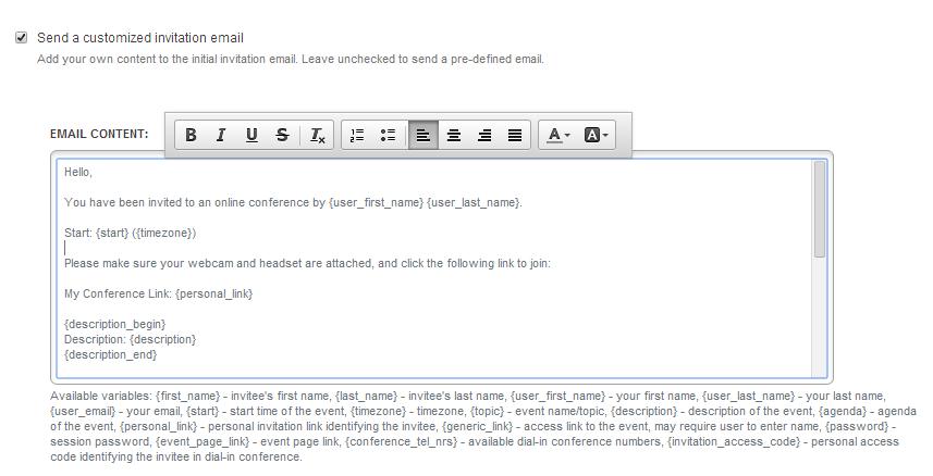 customizing invitation emails welcome to onsync university 1