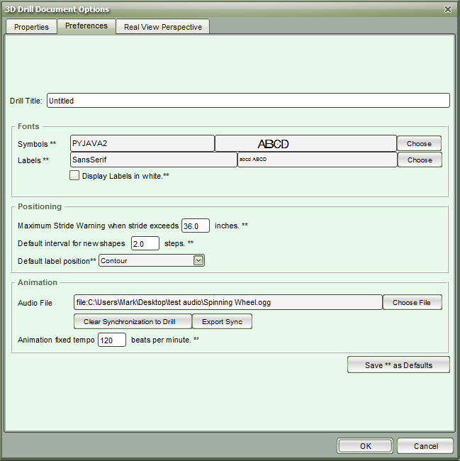 Import/Export Audio Sync - Pyware 3D User Guide - 7 2