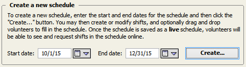 schedules volunteer scheduler pro 1