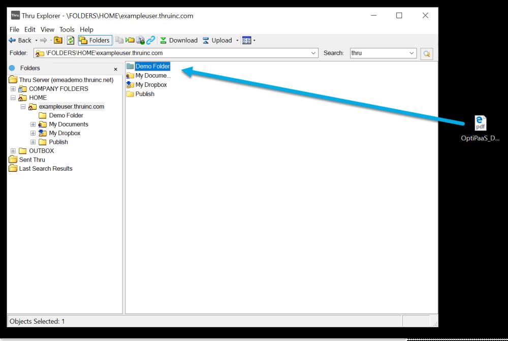 Uploading/Downloading Files and Folders - User Guide - Open
