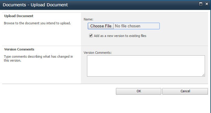 Adding / Uploading Documents - Accupoint Manual - 1