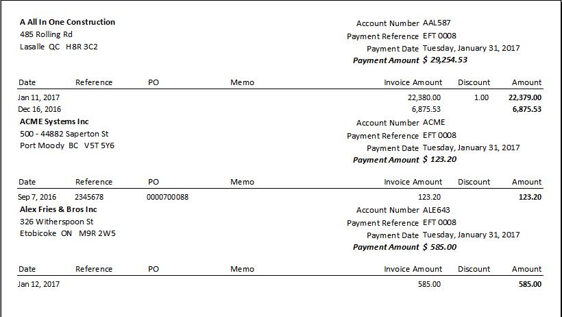 Accounts Payable EFT - Spire User Manual - 2 5
