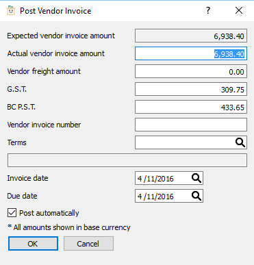 Are Invoice And Purchase Order The Same   Processing Purchase Orders Spire User Manual 2