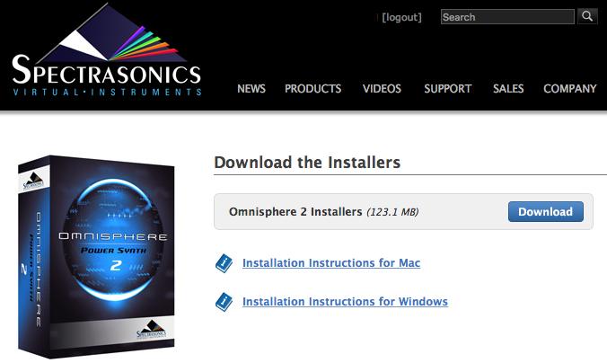 omnisphere 2.5 installer