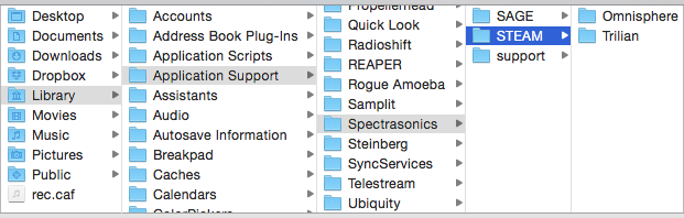 Moving the STEAM Directory - Omnisphere2 - 2 6