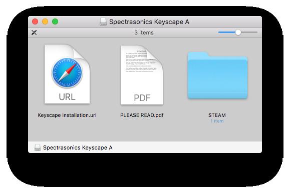 Media Install (Mac) - Keyscape - 1 1