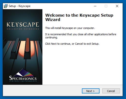 Download Install (Win) - Keyscape - 1 1