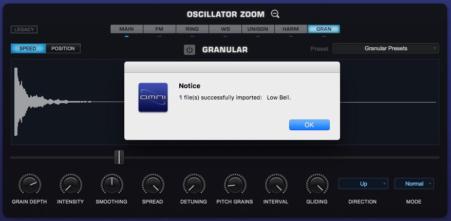 Omnisphere 2 User Directory
