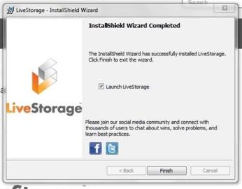 Loading LiveStorage Software - LiveStorage - 1