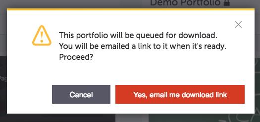 Downloading Portfolio - Pathbrite User Guide - 1