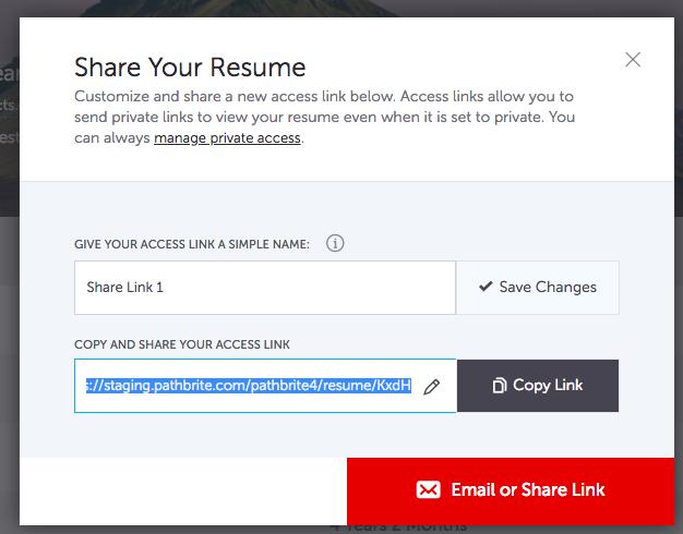 sharing resume pathbrite user guide 1
