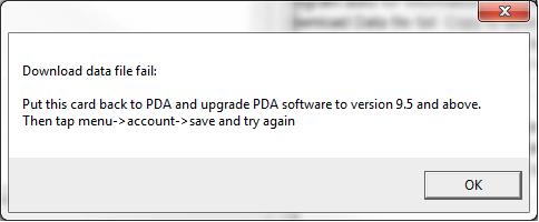 Upgrade to 9.5 Error