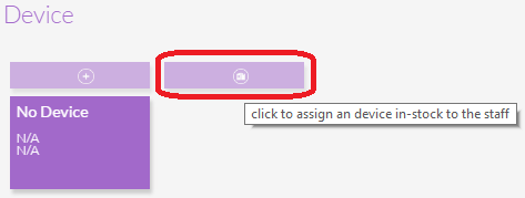 Assign Device Button