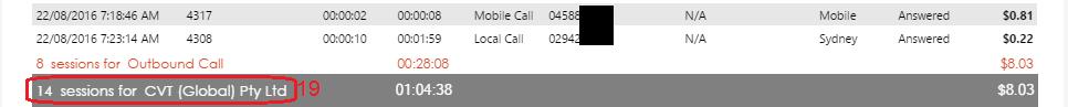 Lync Audio Site Detail Report Page 2