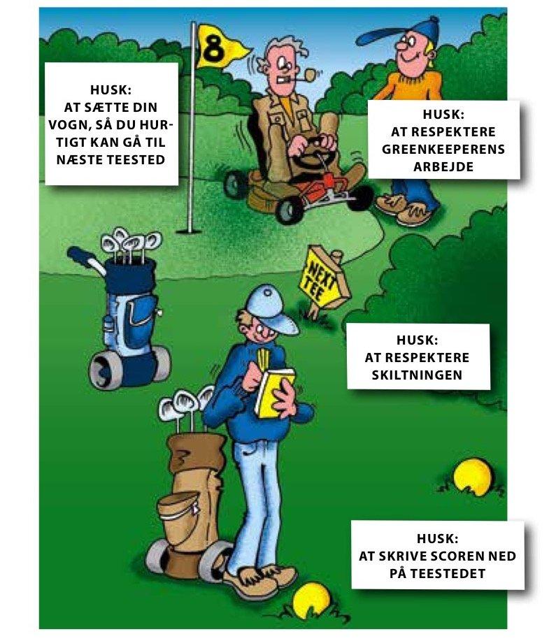Billedresultat for golfregler