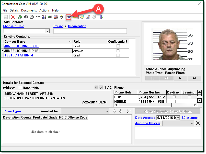 The Wrong Criminal Complaint Format - In-Synch RMS Self Help - 1