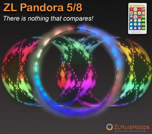 ZL Pandora 5/8 - Smart LED Hoops